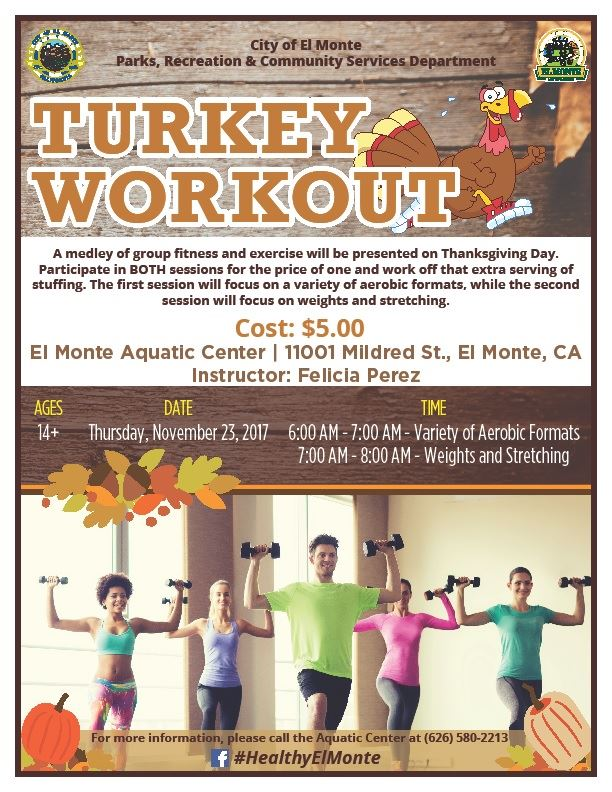 turkey workout nov 23