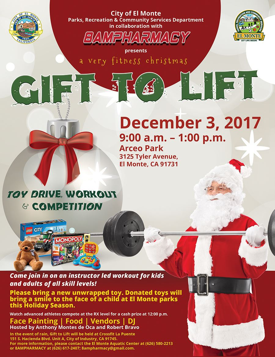 Gift to Lift Flyer