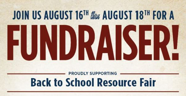 Back to School Resource Fair Fundraiser