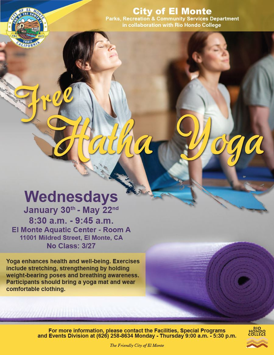 2019 Hatha Yoga Flyer