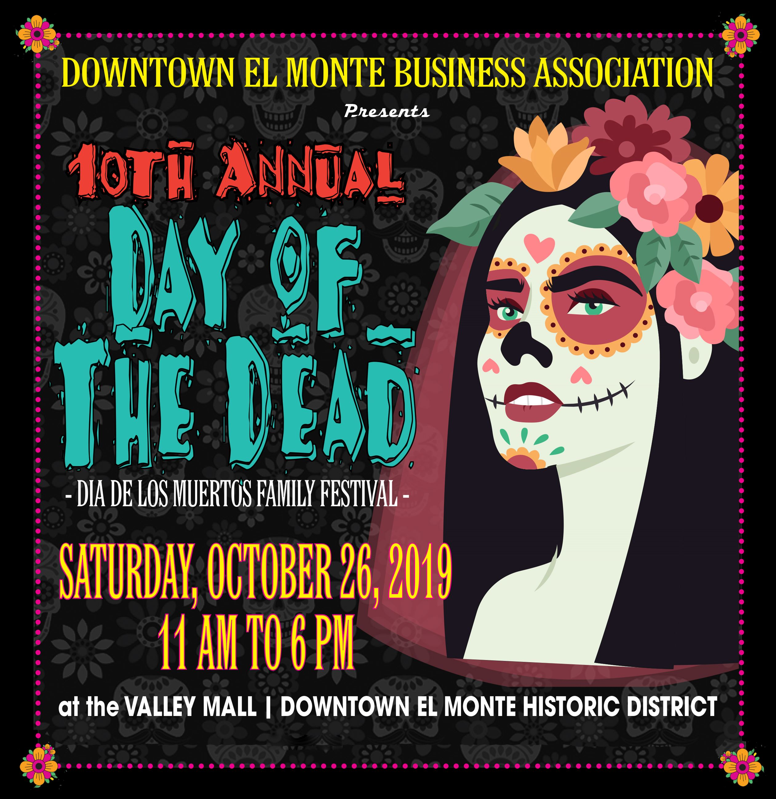 DEMBA Day of the Dead Flyer 2019