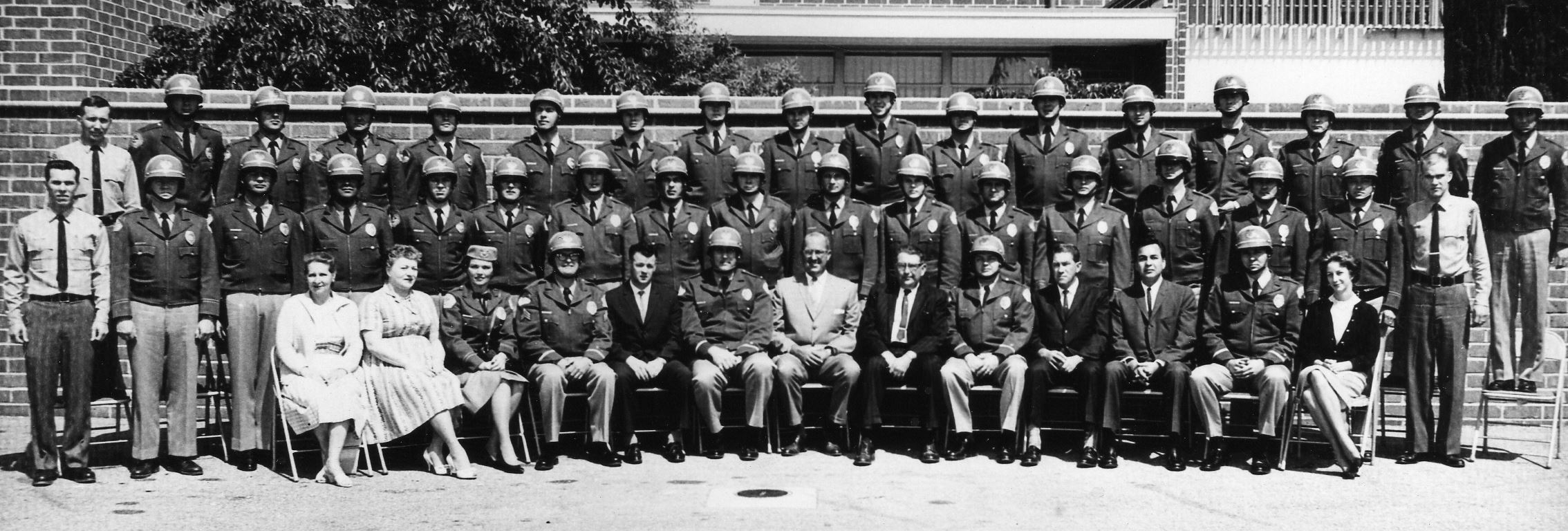 Historical Photo of the El Monte Police Department